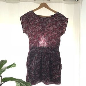 Chic purple tone dress